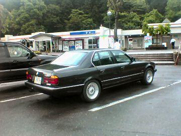 E32 BMW 735i @ 伊吹PA