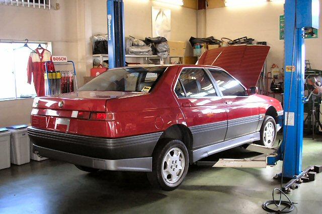 すべてのモデル : アルファ ロメオ アルファ164 : lussocars.com